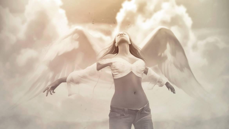 Она спросила у ангела…